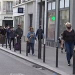 2度目のロックダウンでは街に人の姿が・・・フランスのコロナ禍での生活は「クリック&コレクト」を活用!